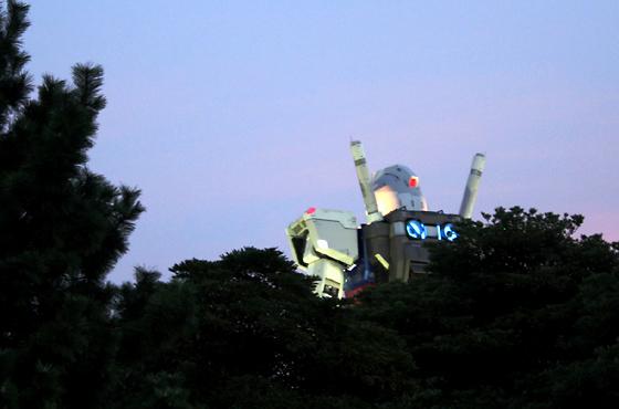 GREEN TOKYO ガンダムプロジェクト - 1/1ガンダムを見てきた -
