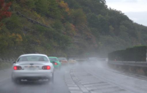 突風!豪雨!オアシス・ロードスターMT! - OASIS Roadster Meeting 2012 -2
