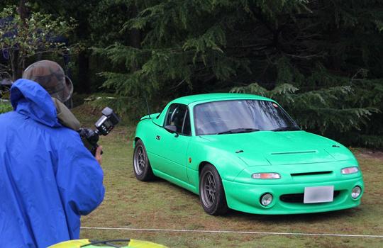 突風!豪雨!オアシス・ロードスターMT! - OASIS Roadster Meeting 2012 -4